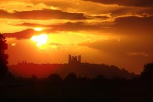 Laon ville flamboyante  et ville fortifier sur la colline