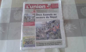 Journal L'union-l'ardennais