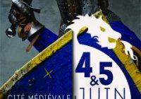 0 affiche medievale Les Fêtes Médiévales de Laon 2016